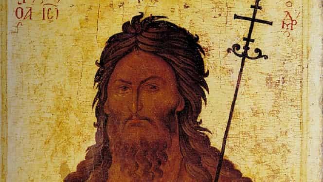 Cea mai puternică rugăciune către Sfântul Ioan Botezătorul. Se spune că te scapă de orice necaz