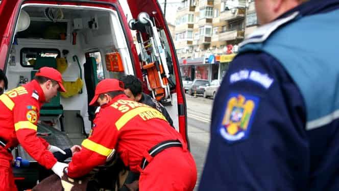 Microbuz cu 17 oameni răsturnat în județul Teleorman! A fost activat Planul Roșu de intervenție