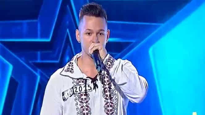 Ce moment! Bogdan Branc a pus muzica populară pe beat-box la Românii au talent – Video