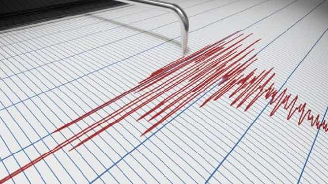 Cutremur cu magnitudine 5,6! S-a simțit puternic