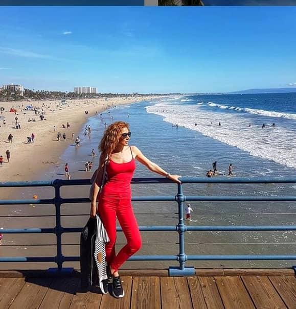 Carmen Burmă și Mircea Badea, în vacanță, în America! Cum s-a pozat pe plajă. FOTO
