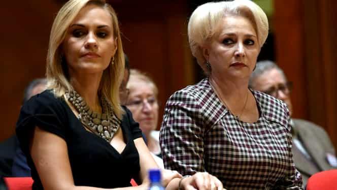 """Gabriela Firea, retrasă din cursa pentru prezidențiale a PSD. Cale liberă pentru Viorica Dăncilă: """"Cred că va fi aleasă de majoritatea colegilor"""""""
