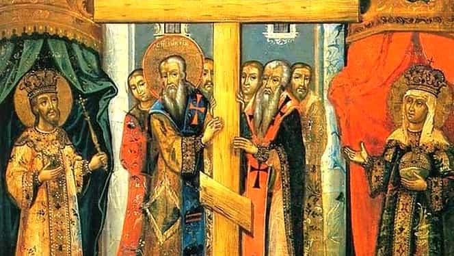 Mare sărbătoare mâine. E Cruce Roșie și sute de mii de români vor merge la biserică de Înălţarea Sfintei Cruci