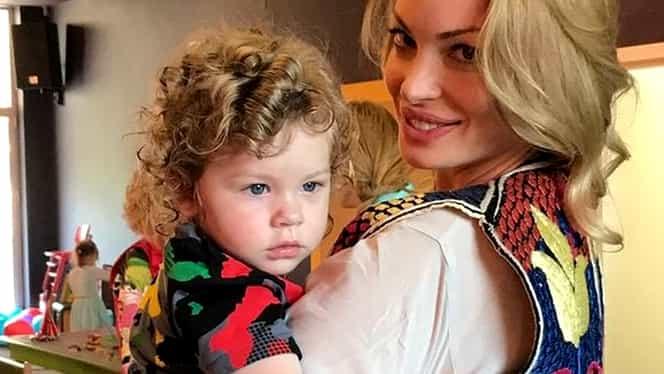 Valentina Pelinel și-a dus copilul la azil! La cine a fost blonda în vizită!