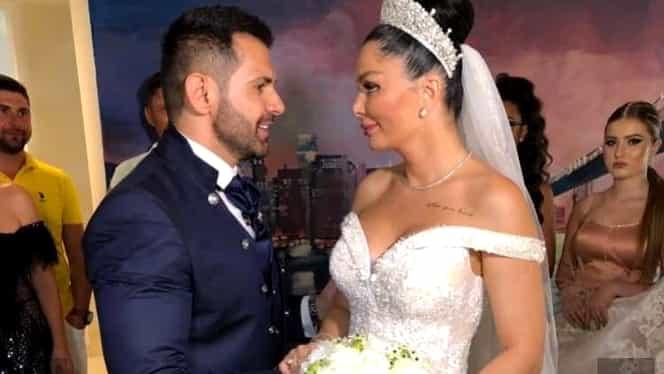Brigitte şi Florin Pastramă au făcut nunta azi! Primele imagini de la eveniment