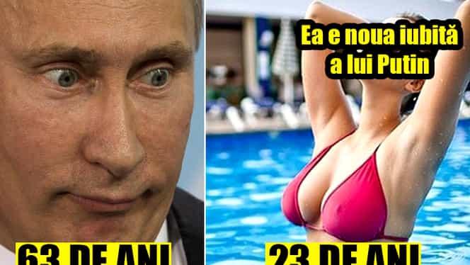 GALERIE FOTO. Ea e noua iubită a lui Putin. E cu 40 de ani mai tînără