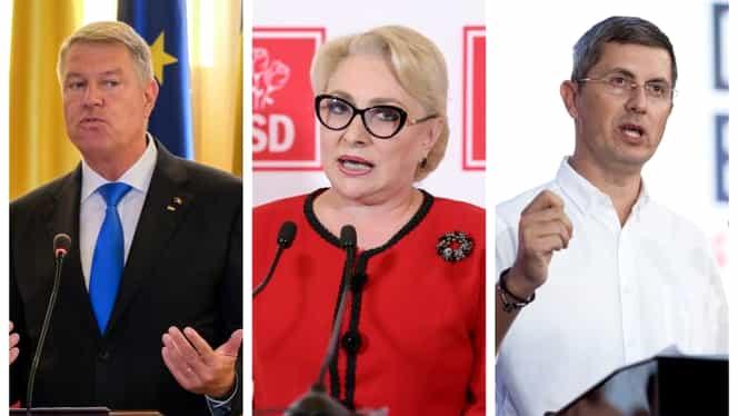 Rezultate parțiale Alegeri Prezidențiale: Klaus Iohannis 36.6 %, Viorica Dăncilă 23.7 %, Dan Barna 13.9 %. Au fost numărate 99,99% din voturi – UPDATE