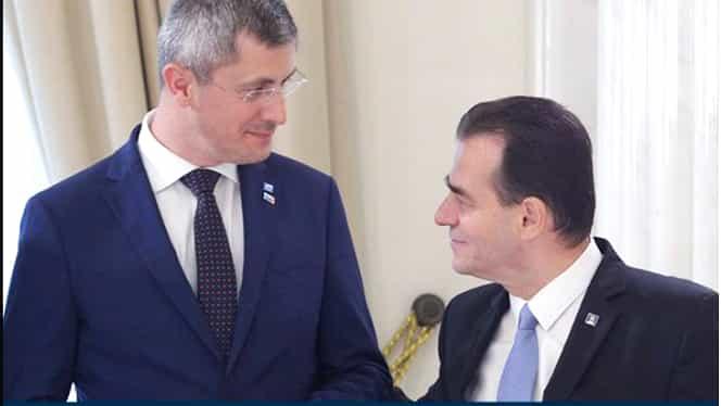 Dan Barna a purtat discuții cu Ludovic Orban despre anticipate și posibilitatea unui candidat unic la Primăria Capitalei