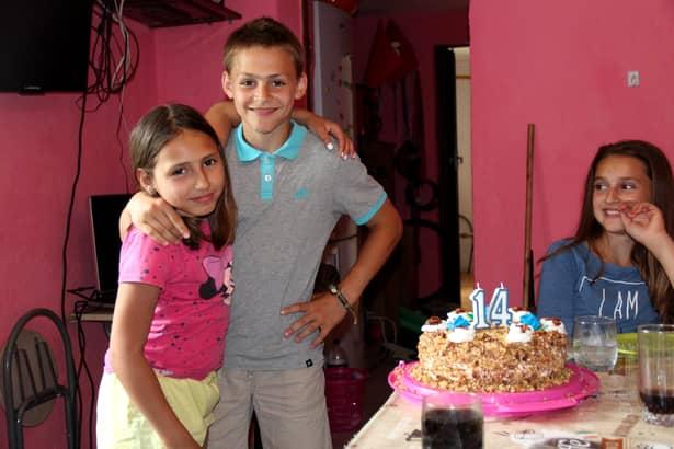 Giuliano Stroe a împlinit 14 ani. Vezi VIDEO în articol!