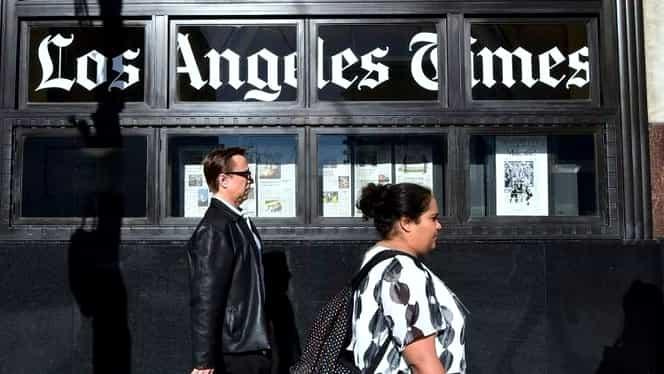 Publicaţia The Los Angeles Times a fost vândută. Cine este noul proprietar