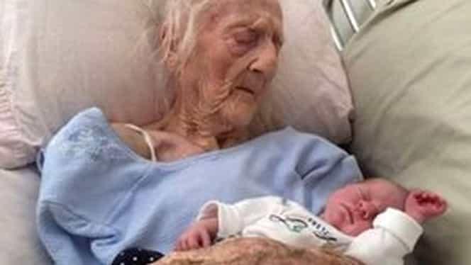 La 101 ani, Anatolia a nascut un bebelus perfect sanatos! Ramai fara cuvinte cand afli cine e tatal micutului