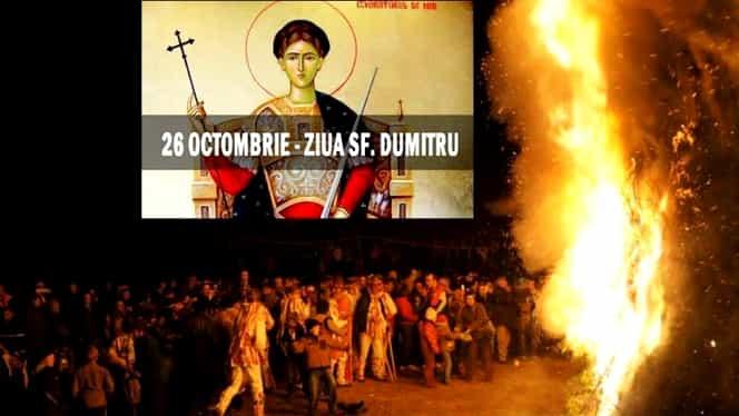 Sfântul Dumitru, origini și tradiții. Atenție mare la ce nu trebuie să faci!