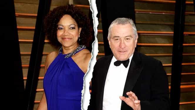 Robert De Niro divorțează de Grace Hightower, după 20 de ani de căsnicie