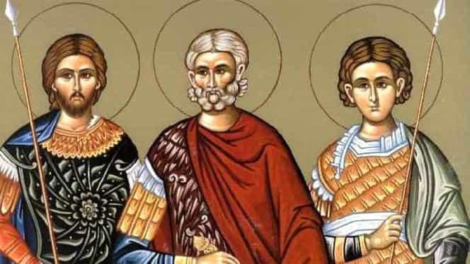 Calendar ortodox 12 octombrie. Sunt prăznuiți Sfinții Mucenici Tarah, Prov și Andronic