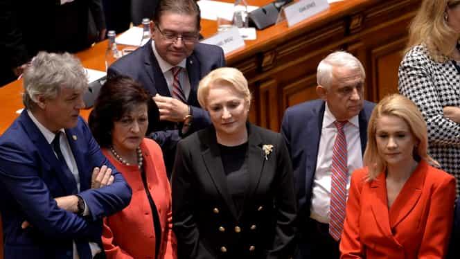 """Viorica Dăncilă, ultima declarație în calitatea de premier: """"Este o zi neagră pentru democrație! Nu plec capul în fața dictatorului Iohannis!"""""""