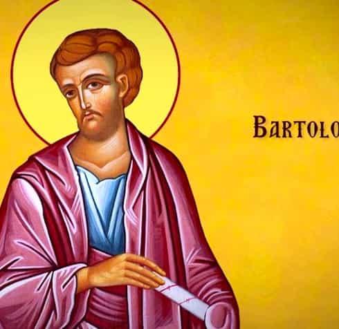 Calendar ortodox duminică, 25 august 2019. Aducerea moaștelor Sfântului Apostol Bartolomeu