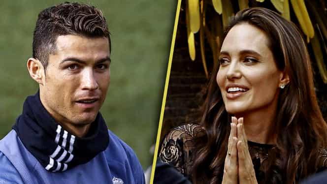 Surpriză totală. Anunţul facut despre Angelina Jolie şi Cristiano Ronaldo