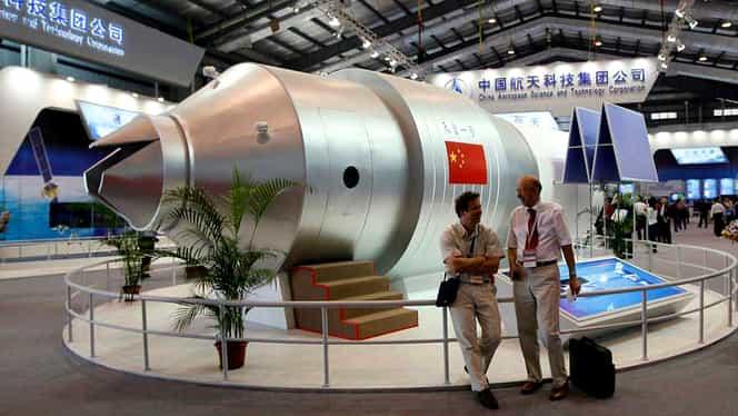 Video fantastic! Staţia spaţială Tiangong 1 s-a prăbuşit în Pacific!