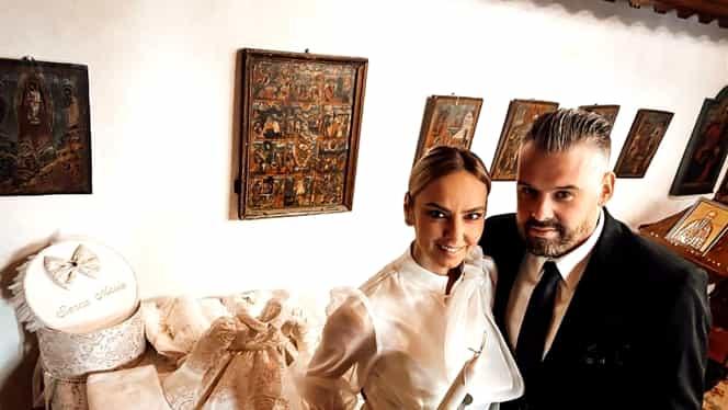 Roxana Ionescu și Tinu Vidaicu, cununie civilă în mare secret. Mama Natură a avut familia aproape