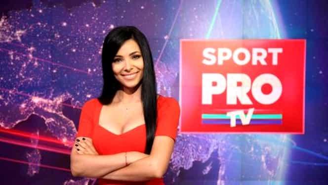 Corina Caragea ar pleca de la pupitrul știrilor sportive de la Pro TV! Ce vrea să facă bruneta!