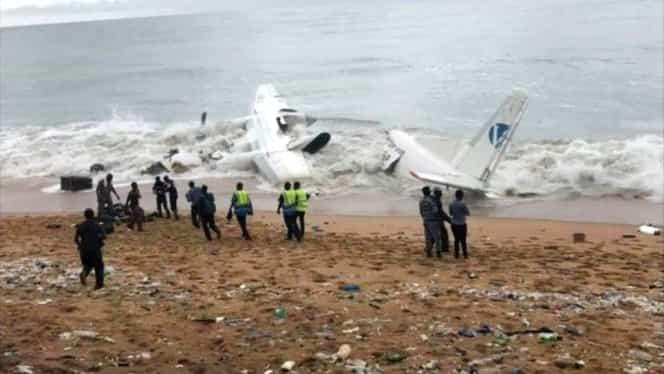 Un avion s-a prăbuşit chiar de Revelion. Toţi cei aflaţi la bord au murit