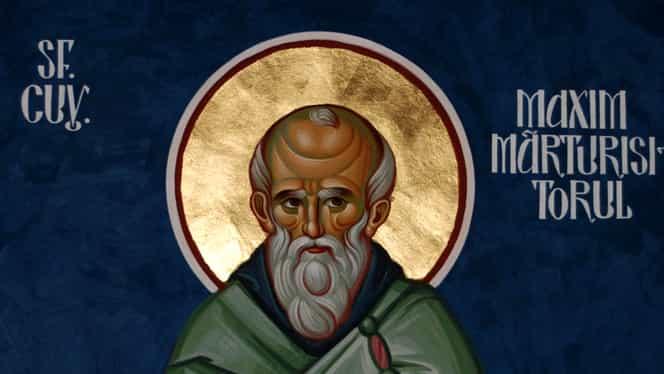 Calendar ortodox 21 ianuarie! Pomenirea cuviosului nostru părinte Maxim Mărturisitorul