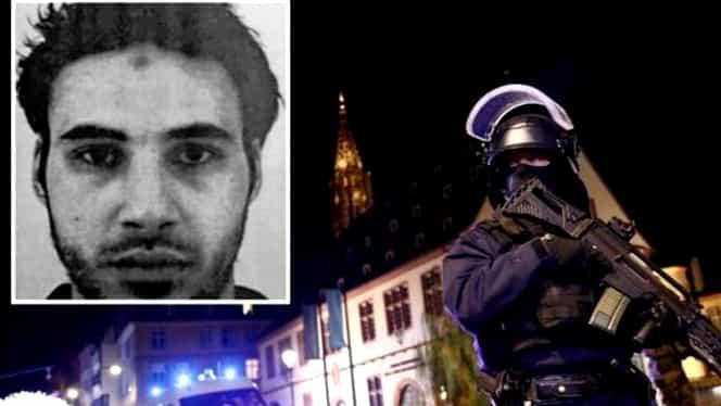Atentat Strasbourg: Atacatorul de la Târgul de Crăciun a fost împușcat mortal