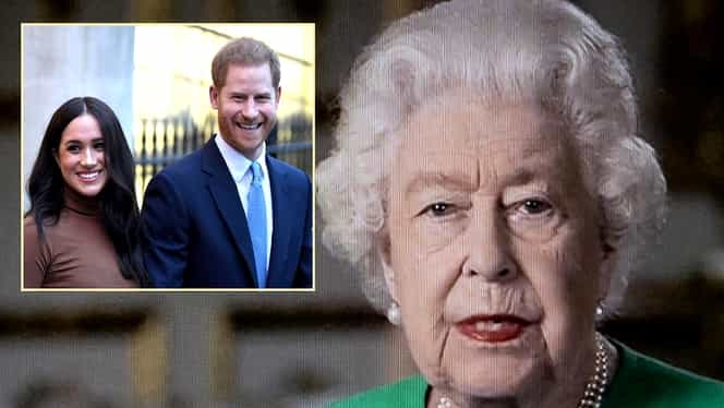 Cadoul neașteptat primit de Regina Elisabeta de la Meghan și Harry, aflați în izolare în America