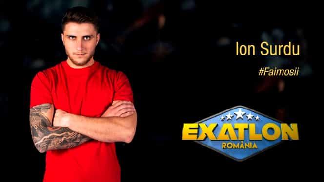 """Cu ce s-a ocupat Ion Surdu, înainte de Exatlon: """"Sunt expert"""""""