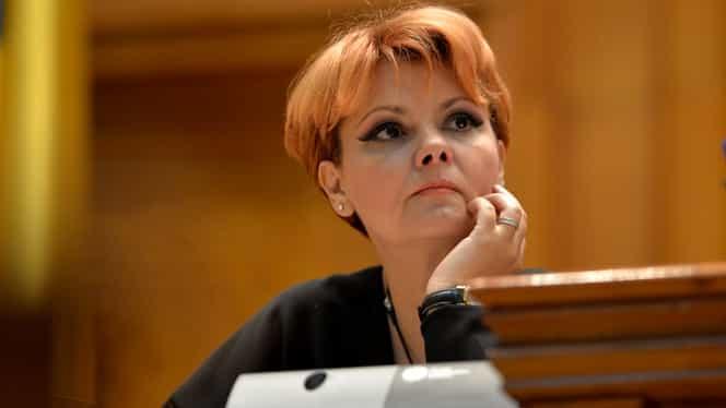 """Lia Olguța Vasilescu, mesaj ferm despre Sorina Pintea! """"Nu este suspendată din partid"""""""