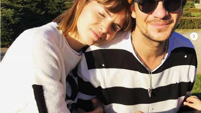 Cum s-a fotografiat Tudor Chirilă, alături de iubita sa. Imagine rară cu Iulia, perechea juratului Vocea României