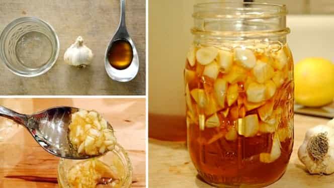 A mâncat usturoi cu miere timp de 7 zile. Rezultatul a fost unul tămăduitor!