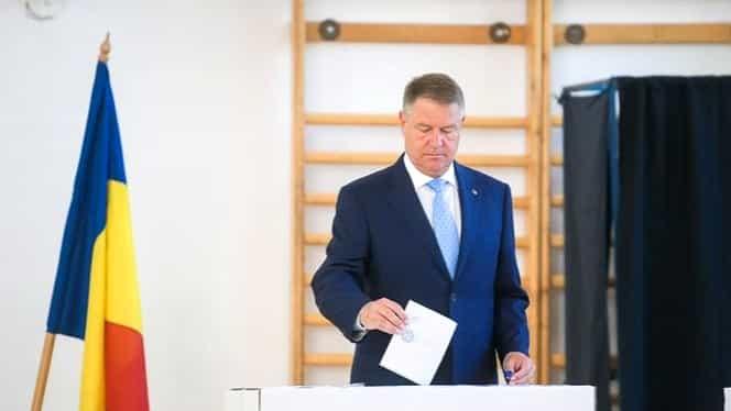 Mesajul lui Klaus Iohannis pentru români, în ziua alegerilor. Președintele a votat la Jean Monnet