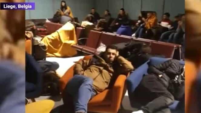 180 de români blocați pe aeroportul din Liege după ce cursa lor a fost anulată. Kovesi, printre pasageri. Reacţia fostei şefe DNA şi a Wizz Air- UPDATE