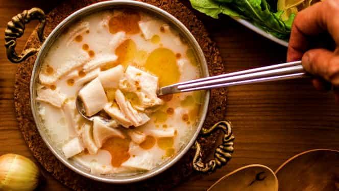 Rețeta zilei de 13 decembrie 2019: Ciorbă de burtă ardelenească. Unul din cele mai delicioase preparate pentru sezonul de iarnă