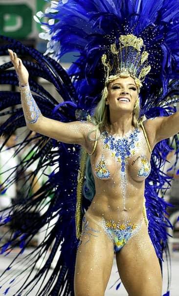 GALERIE FOTO. Cele mai DEZINHIBATE femei de la Carnavalul de la Rio