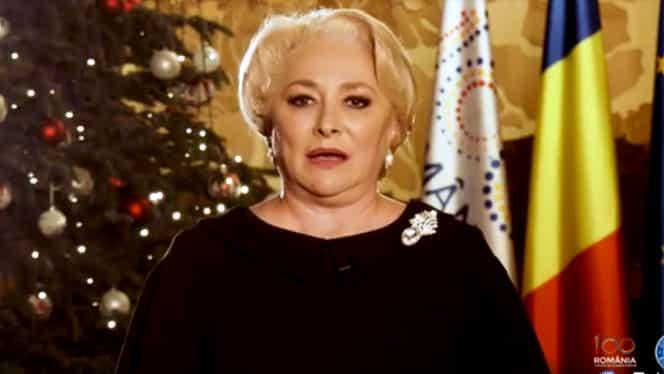 """Mesajul de Anul Nou al premierului Viorica Dăncilă: """"Românie demnă și mândră, suntem pregătiți!"""""""