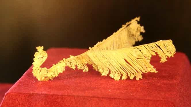 Tezaur: cele mai valoroase 5 kg de aur din lume se află la Brad!