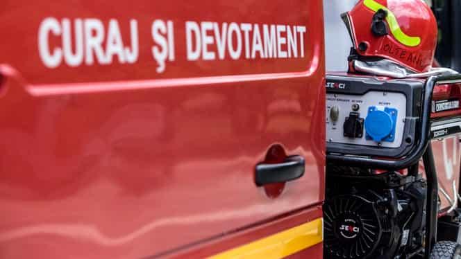 Policlinica MAI din Calea Victoriei a luat foc! Incendiul a izbucnit la etajul 6 al clădirii