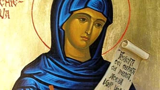 Cruce Roșie și mare sărbătoare mâine în calendarul ortodox. Este sărbătorită Sfânta Parascheva