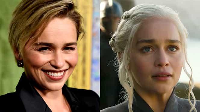 """Emilia Clarke, interpreta lui Daenerys din Game of Thrones, anunț despre următoarele episoade: """"Vor fi nebune"""""""