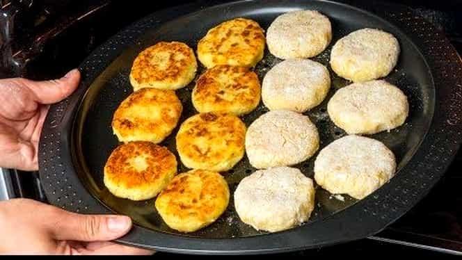 Rețeta zilei. Chiftele cu cartofi cu cașcaval, un deliciu culinar