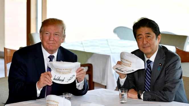 """Alerte cu bombă în """"Ţara Soarelui Răsare""""! Ce legătură au cu vizita lui Trump în Japonia"""