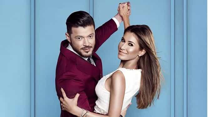 Cine e Cristina Dorobanțu, coprezentatoarea lui Victor Slav la emisiunea Îmi place Dansul de la Kanal D. FOTO