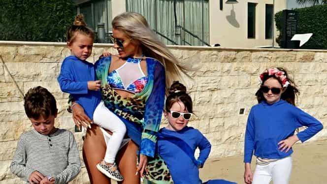 Cea mai sexy mamă din lume! A născut 5 copii în 6 ani şi arată incredibil. Galerie FOTO