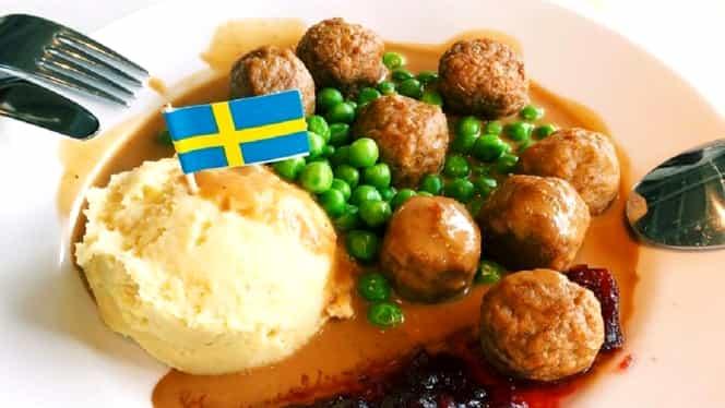 Ambasada Suediei a dezvăluit rețeta de chifteluțe de la Ikea. De cât lapte ai nevoie să îți iasă la fel