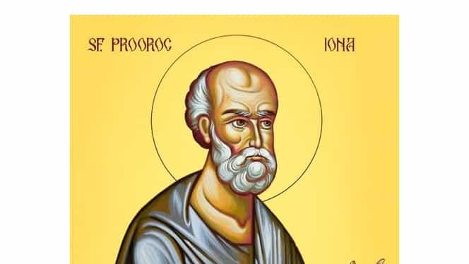 Calendar ortodox, 21 septembrie: pomenirea sfântului prooroc Iona