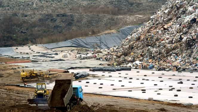 Descoperire șocantă la groapa de gunoi Vidra. A fost găsit trupul unei femei, fără urme vizibile de violență