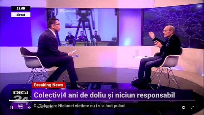 CTP, dezlănţuit la TV! Jurnalistul a înjurat în direct la Digi 24 – VIDEO