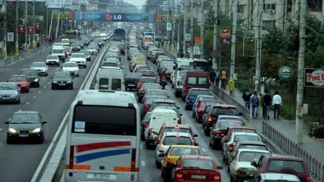 Trafic restricţionat, sîmbătă, în Capitală. Care sunt rutele ocolitoare recomandate